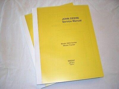 John Deere 3010 Gas Diesel Tractor Service Manual