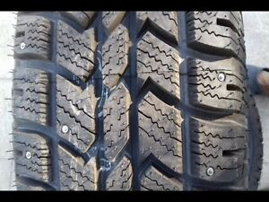 FOUR ARCTIC CLAW WINTER TXI 235 75 R 15'' STUDDED M/S RADIALS