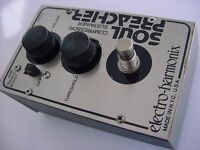 vintage 1970s compressor Electro-Harmonix Soul Preacher Compressor/Sustainer treble boost