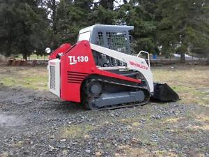 2006 Takeuchi TL130 Skidsteer  MINT CONDITION ONLY 375 hours