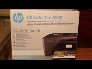 HP officeJet Pro 6968 (printer,scanner, fax and copier wireless)