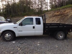 2001 Ford F-350 flat deck dually