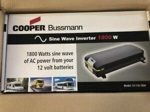Cooper Bussmann 1800 Watts Sine Wave Inverter - BRAND NEW