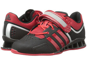 New Adidas Adipower Men's Black and Red Size 7.5-10
