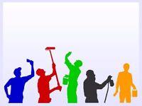 Painting & Decorating /handyman/Plumbing/Flooring/Plastering/Partitioned Walls/Tiling.......