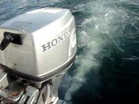 Honda 9.9 outboard