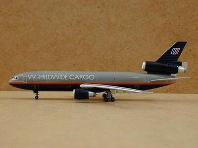 ( United Airlines DC-10-30F (N1854U) Worldwide Cargo, 1:400, Jet-X)
