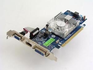 ATI AMD Radeon GIGABYTE HD 4350 GV-R435OC-512I 512MB PCI-E HDMI/