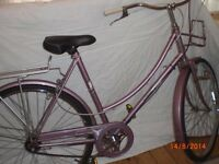 Bicycle For Sale. Lovely Ladies Town Bicycle. Raleigh Caprice. Refurbished