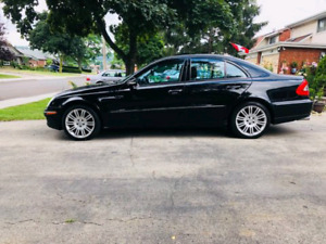 FS: 2008 MERCEDES E 550, CLEAN, PRICED TO SELL,LITTLE TO SAFETY
