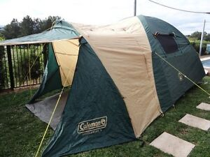 """Coleman 4 person Tent  """"Overlander 4"""" with Fly and  Patio Area Morpeth Maitland Area Preview"""