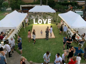 $39 Marquees, $1 chairs, $6 tables for party event hire