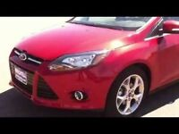 Mk3 candy red ford focus bonnet 2013