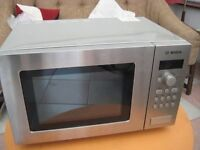 Bosch microwave oven with grill
