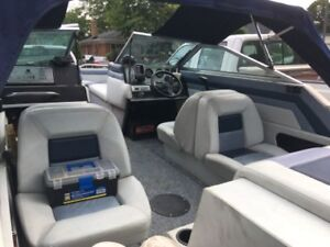 Very nice riding and running Bowrider family boat and trailer