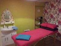 Affordable treatment room to rent, city centre, fully equipped. hour/day/week rates