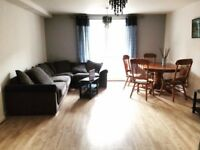 1 bedroom ground floor flat for rent in Bow, newly painted. 1350 p/m + bills