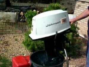 Johnson 18Hp outboard