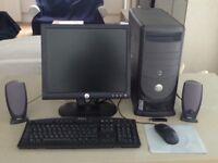 Dell Dimension 8400 Desktop PC + Dell Multi-Function 922 printer