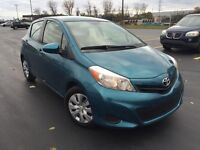 2012 Hatchback Toyota Yaris  $11500, low mileage 43,980 km