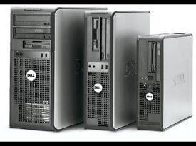 Desktop and workstation PC's- complete sets (screens,keyboards,mouse)