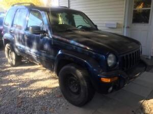 Jeep Liberty VUS négociable à vendre