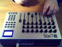 Evolution UC-33e Advanced USB MIDI Control Surface