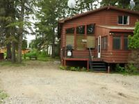 FOR RENT- Lakeview Cabin at Powm Beach Turtle Lake