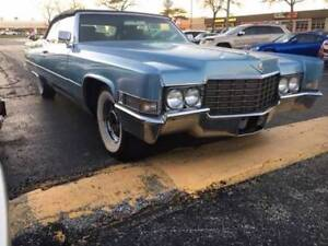 Cadillac, Buick, Olds 1965-70 convertible top Blue