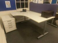 Office Desk: FREE, MUST COLLECT TODAY