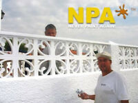 Never Paint your home again with our weatherproof wall coatings