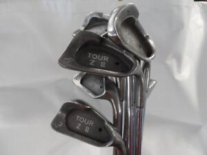 Pro Pride Tour-Z II Iron Set #3-PW, SW Steel Regular Men's Right