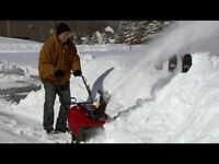Looking for snow clearing helper ASAP $120 CASH per shift