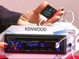 Kenwood Car Stereo KDC-4551UB, with ipod/USB!