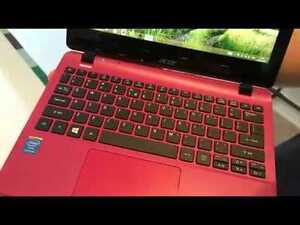 Acer aspire red perfect condition