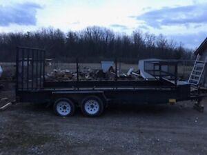 2003 16-foot tandem trailer