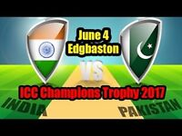 India vs Pakistan , ICC Champions Trophy , 4th June