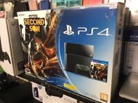 Sony Playstation 4 - 500GB Infamous Second Son Bundle (PRE-OWNWD)