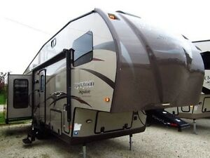 Roulotte fifth wheel 28 pieds