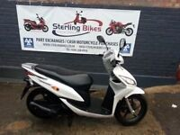 HONDA VISION 110cc 2012 IN VERY GOOD CONDITION JUST BEEN SERVICED