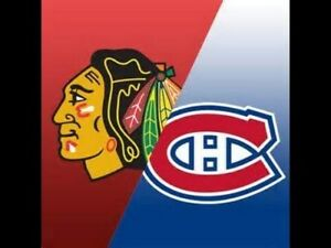 Canadiens reçcoivent les Black Hawks de Chicago