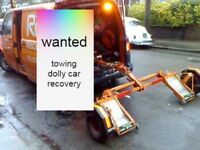 wanted towing dolly car recovery
