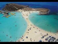 X 4 Flights ONLY to Lanarca (Cyprus) *luggage included* price is Per Person