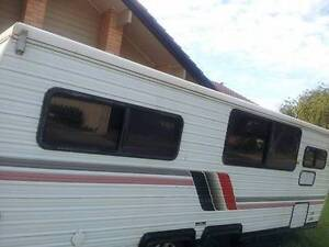 Coromal lowline dual wheel ezytow caravan 18ft Klemzig Port Adelaide Area Preview