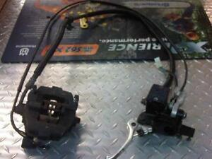 COMPLETE HYDRAULIC BRAKE SYSTEM YAMAHA RX-1