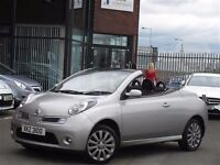 Mint wee 2009 Nissan Micra CC 1.6 16v Acenta convertible, trade in considered, credit cards accepted