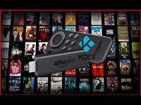 **AMAZON FIRE TV WITH **KODI** (TRUSTED SELLER)