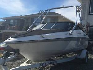 2008 Campion Allante 545 Boat & Trailer