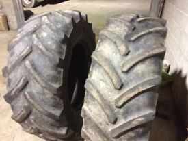 Goodyear tractor tyres 580/70/38 480/70/28