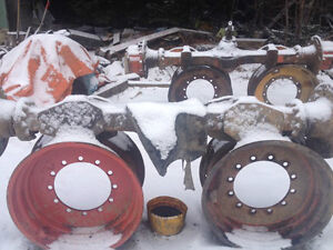 Four 16 9 30 12 bolt timberjack or tree farmer rims very hard to find